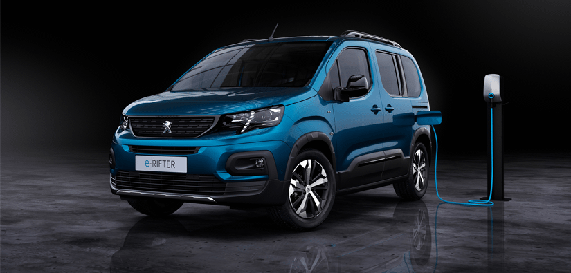 New Peugeot e-Rifter Joins Electric Range
