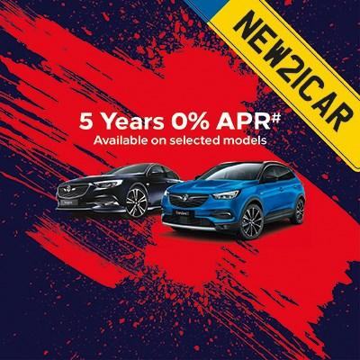 5 Years 0% APR
