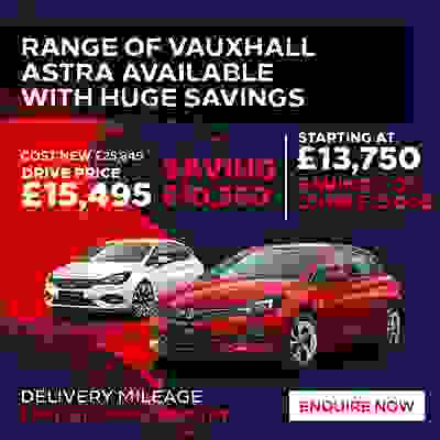 Nearly New Astra Offer