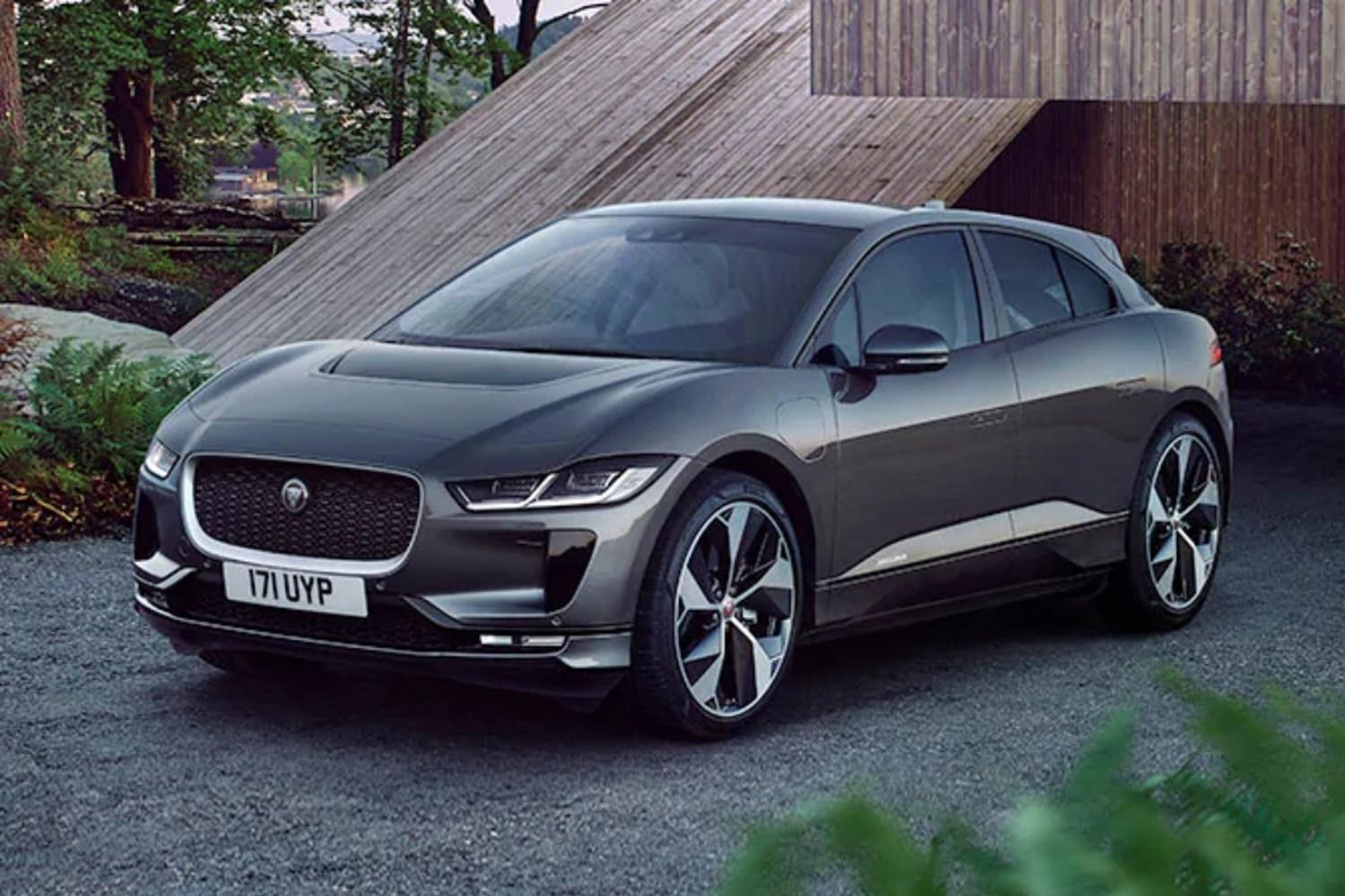 Grey Jaguar I-Pace front end