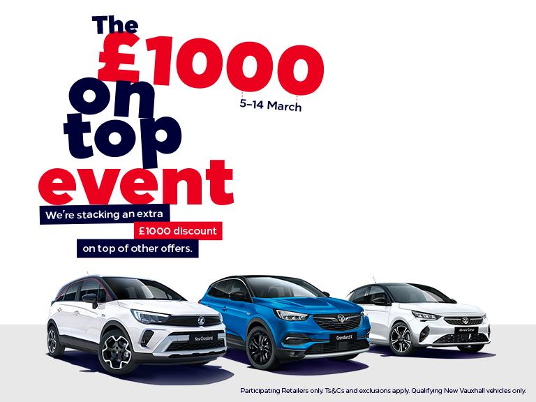 £1000 On Top Event At Rowcliffes Vauxhall