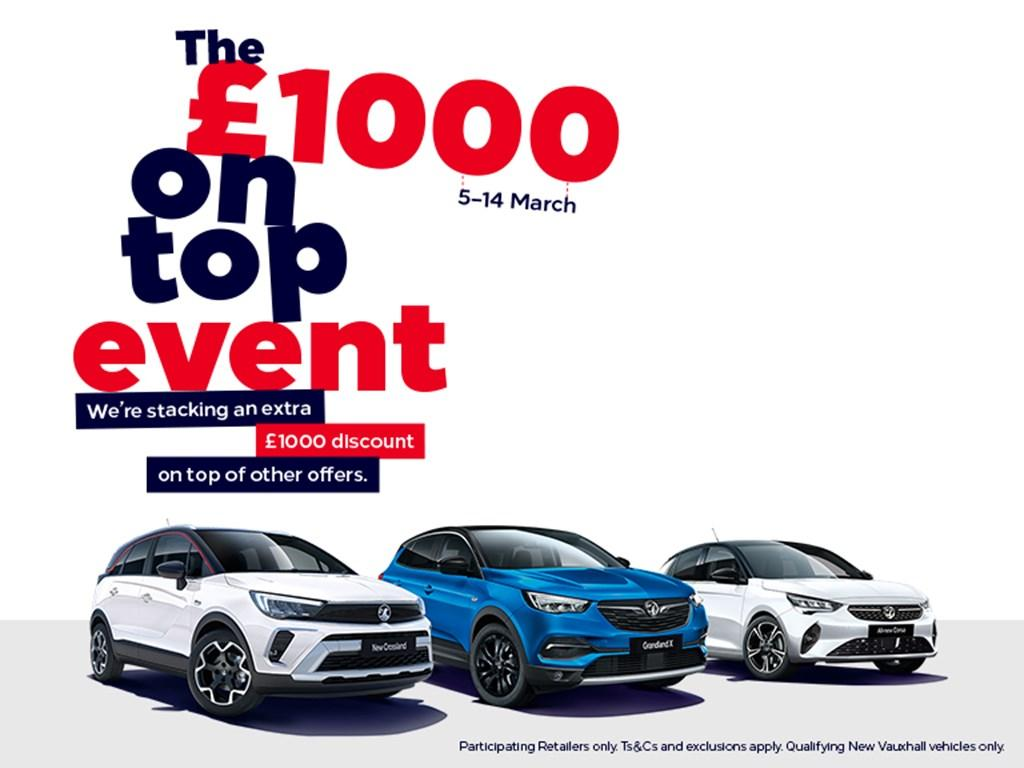 The £1000 On Top Event