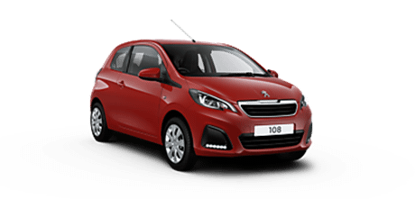 Peugeot 108 Active 1.0L 72 5dr | PCP