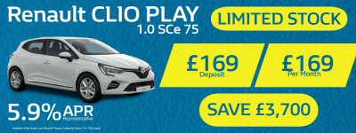 New Renault Clio Play Special Stock Offer
