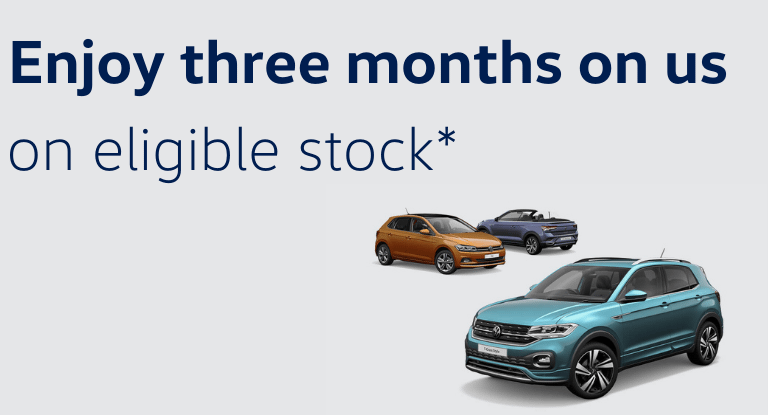 Three Months' on us for a limited time.