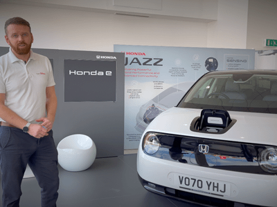 Discover the Honda e with Startin Honda Worcester