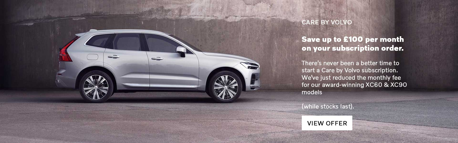 XC60 & XC90 Care By Volvo