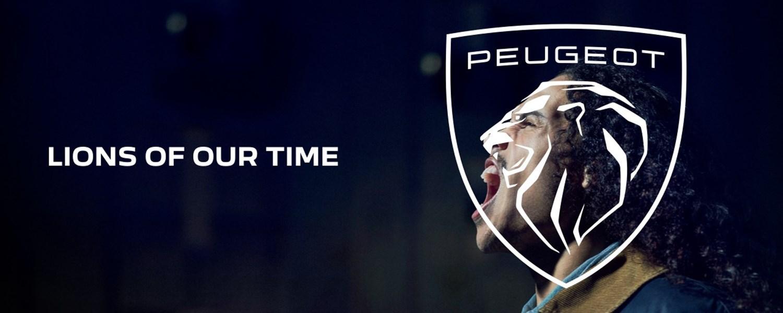 New Peugeot Logo Banner