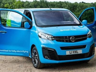 British Gas Choose Vauxhall Electric Vans. Making it the largest Commercial order in the UK.