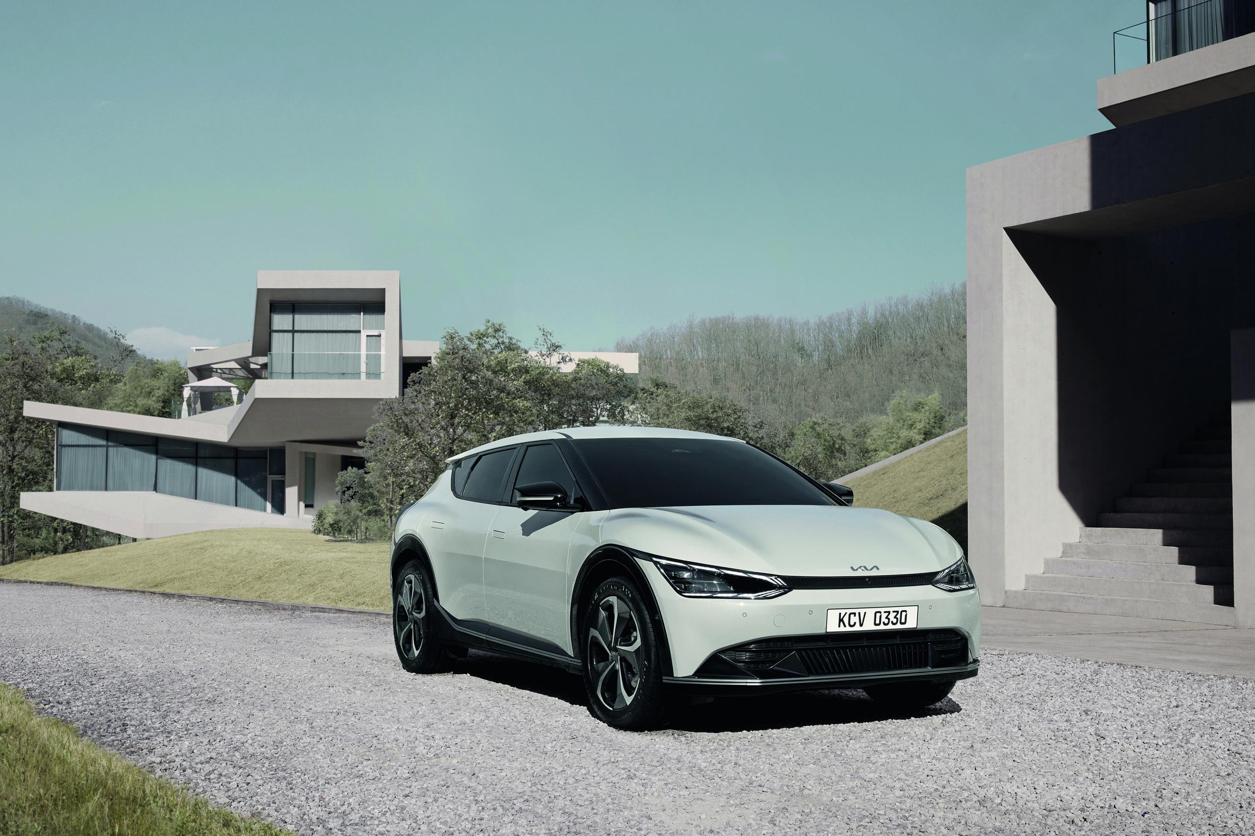 Kia reveals EV6 and a new design philosophy