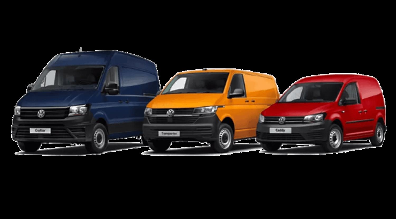 VW Commercial Range