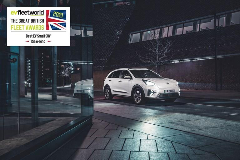 KIA E-NIRO NAMED 'BEST EV SMALL SUV', AT THE FLEET WORLD GREAT BRITISH FLEET AWARDS