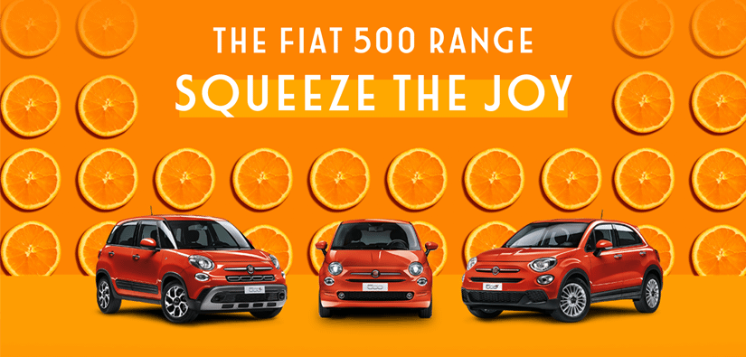 Squeeze the Joy with Fiat!