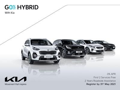 Go Hybrid with 0% APR Finance