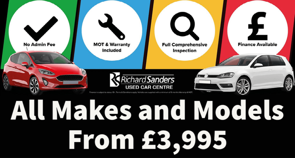 used car centre banner