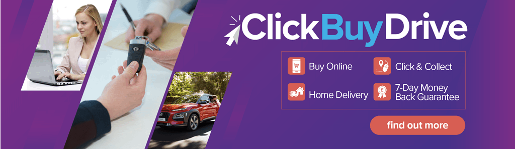 Click, Buy, Drive Homepage Banner