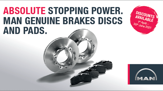 MAN Genuine Brake Discs & Pads
