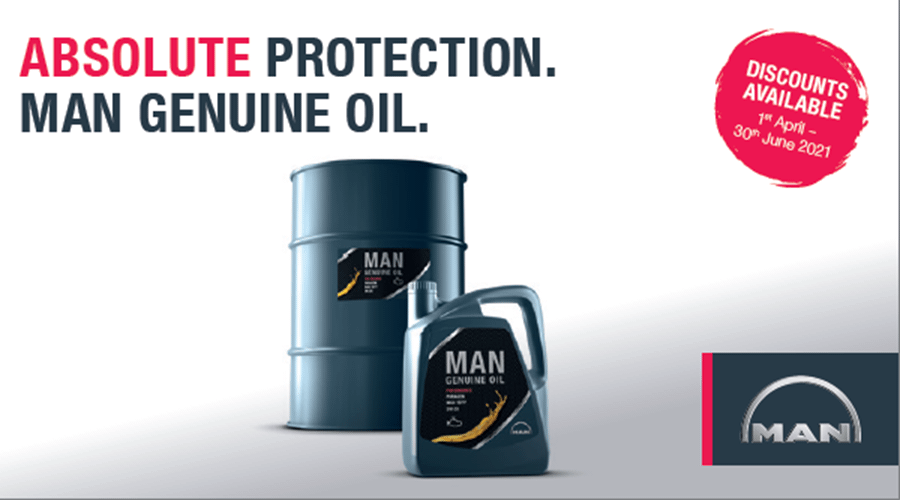 MAN Genuine Oil