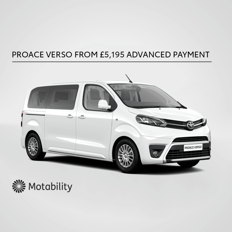 PROACE VERSO Motability Offer