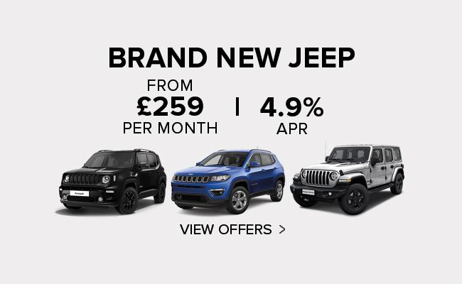 Ancaster Jeep New Car Offers