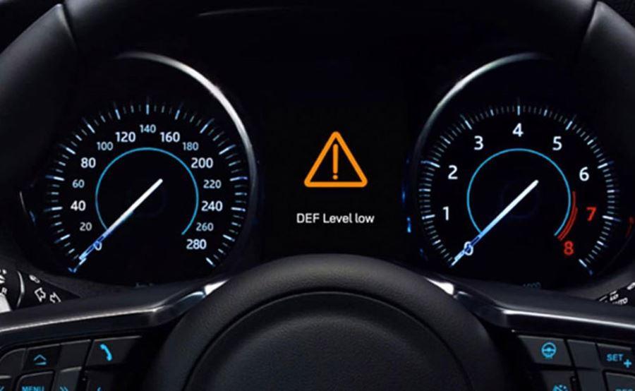 Jaguar speedometer and rev counter