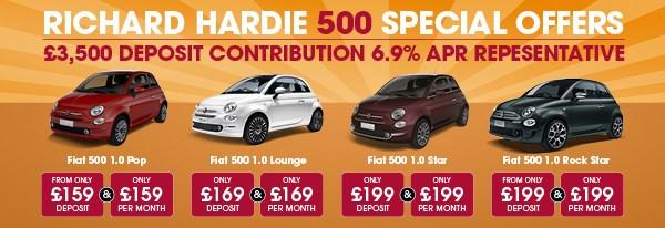Fiat 500 SPECIALS