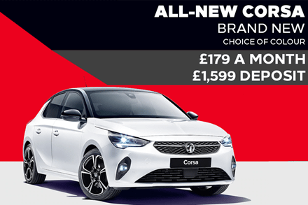 All-New Vauxhall Corsa - £179 A Month | £1,599 Deposit - PCP