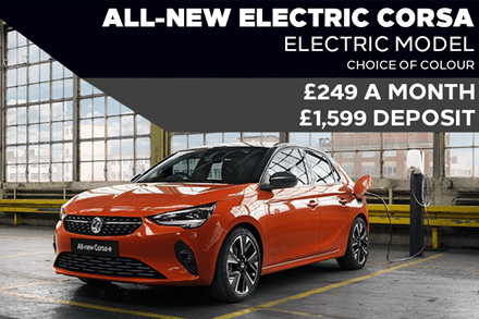 All-New Vauxhall Corsa Electric - £249 A Month With £1,599 Deposit - PCP