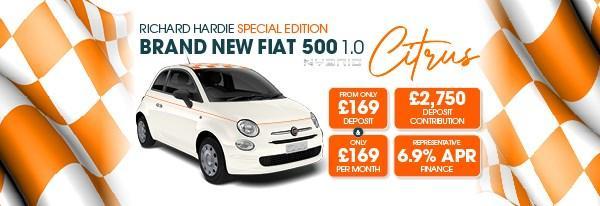Brand New Fiat 500 1.0 Citrus Mild Hybrid