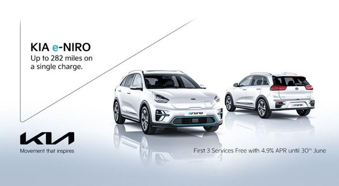 Kia e-Niro from with 3 free services