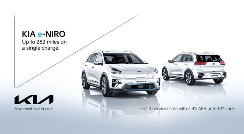 Kia e-Niro from with 3 free services