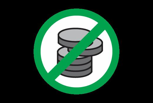 Zero Admin Fees