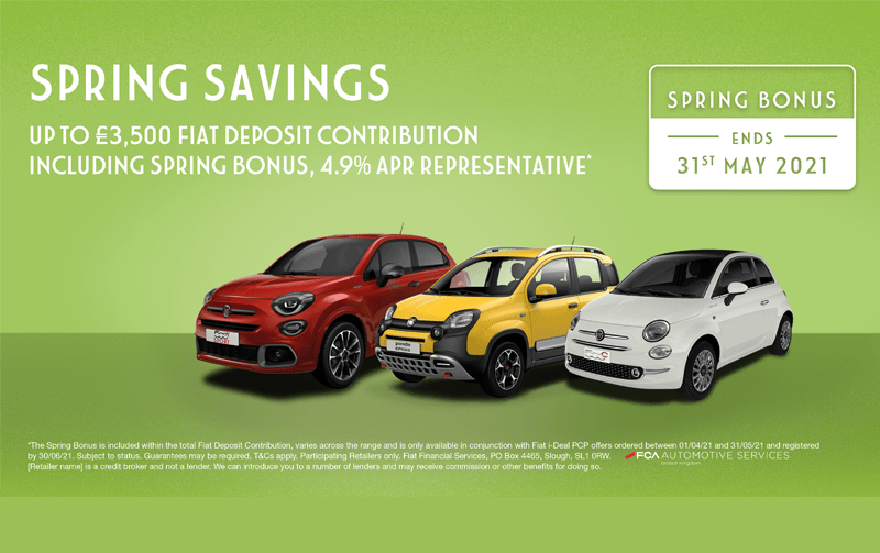 Spring Savings at Fiat