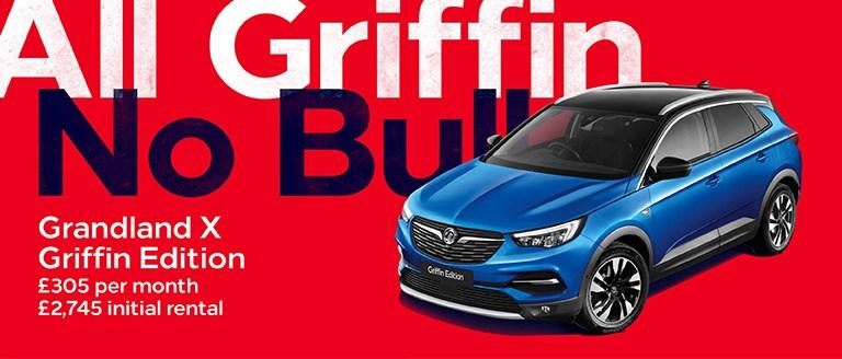 Vauxhall Grandland X Griffin Edition PCH Offer