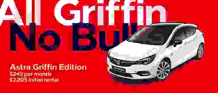 Vauxhall Astra Griffin PCH Offer