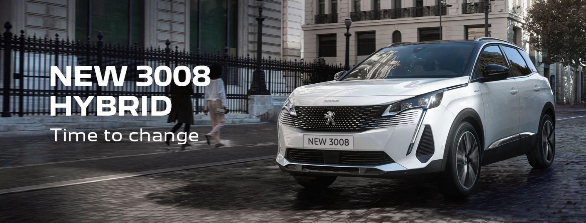 Peugeot 3008 Hybrid at Chippenham Motor Company