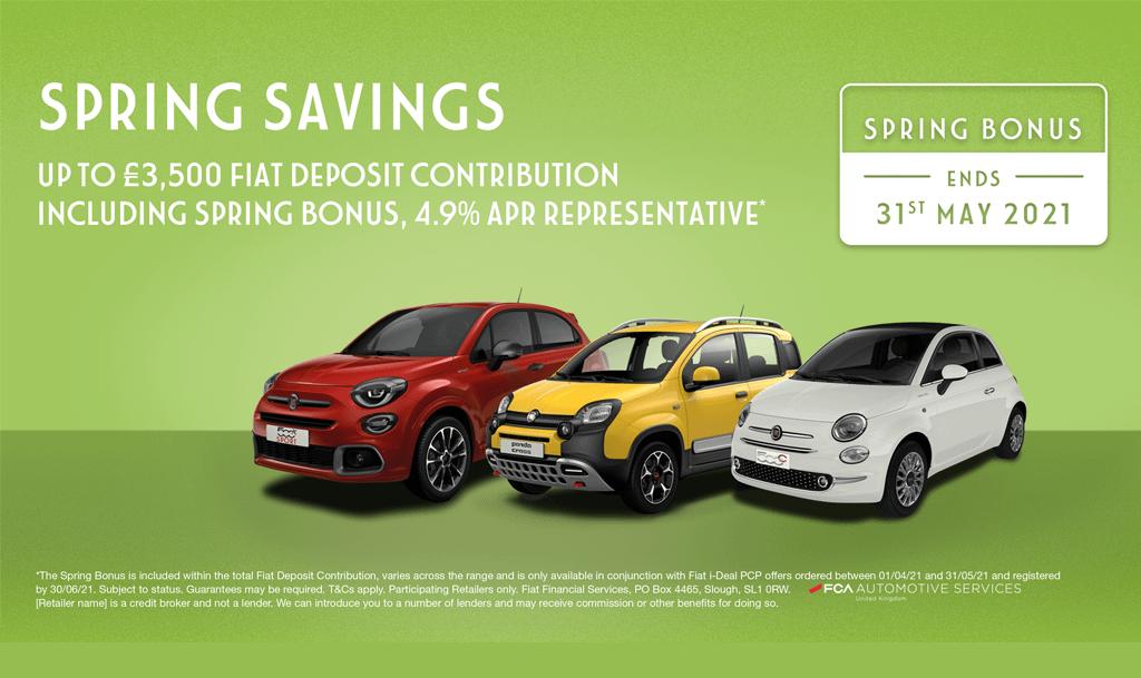 Fiat Spring Savings