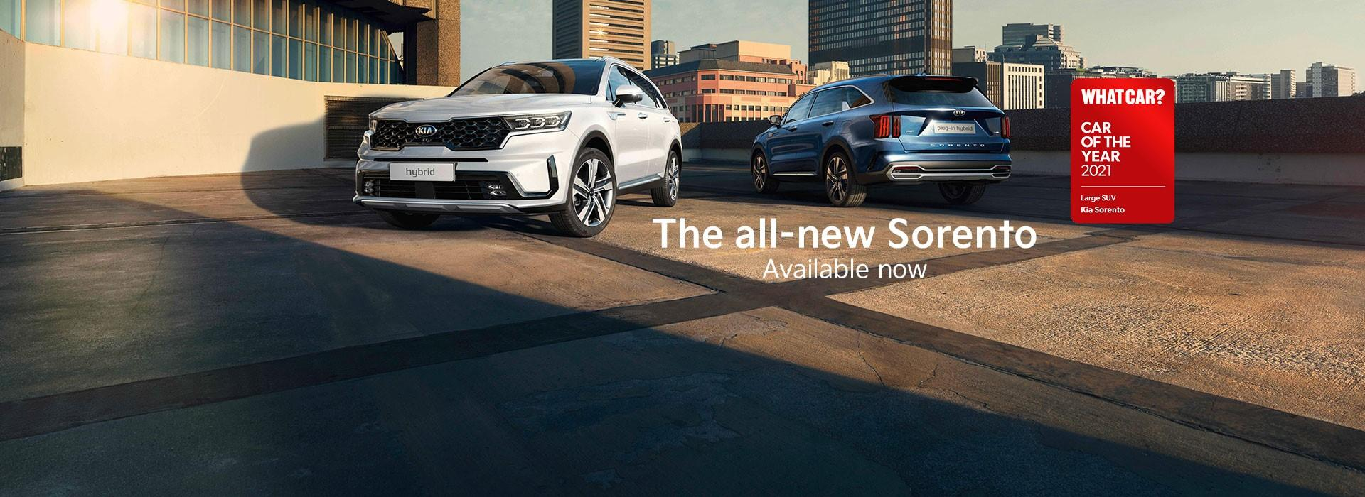 All-New Sorento now available