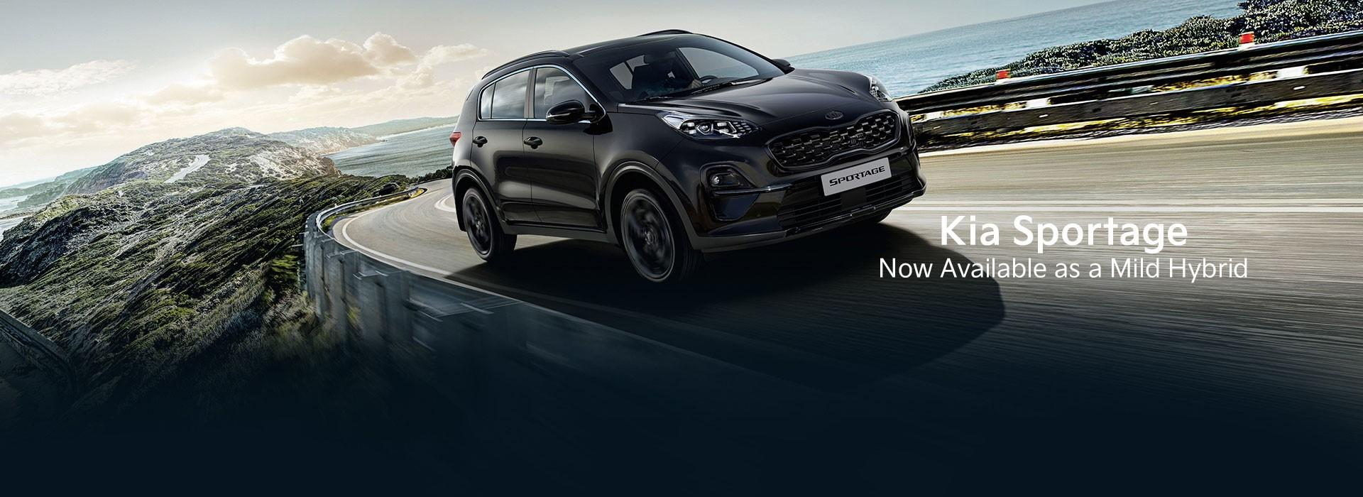 Kia Sportage now available in Mild Hybrid