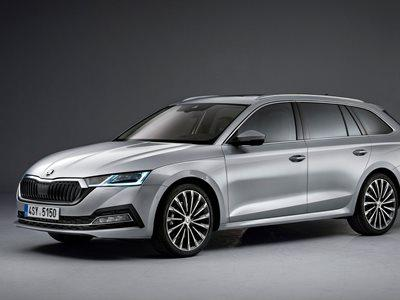 Skoda Octavia Estate Business Lease Offer
