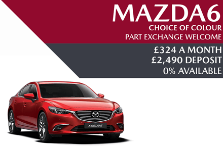 Mazda6 - Now £324 A Month | £2,490 Deposit And 0% APR Available