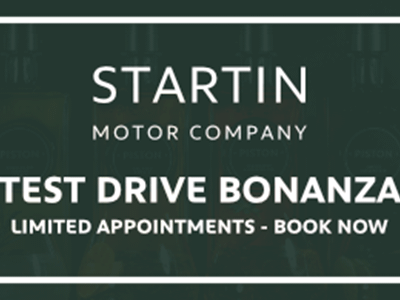 Startin Group Test Drive Bonanza
