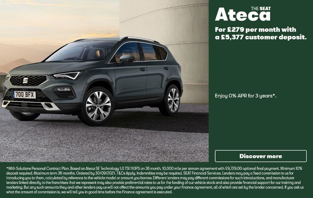 New SEAT Ateca 2020