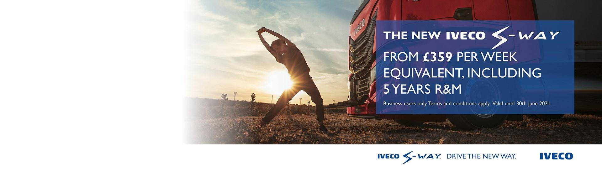 The new Iveco S-Way from £365 per week