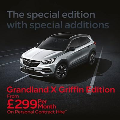 New Grandland X Griffin Offer