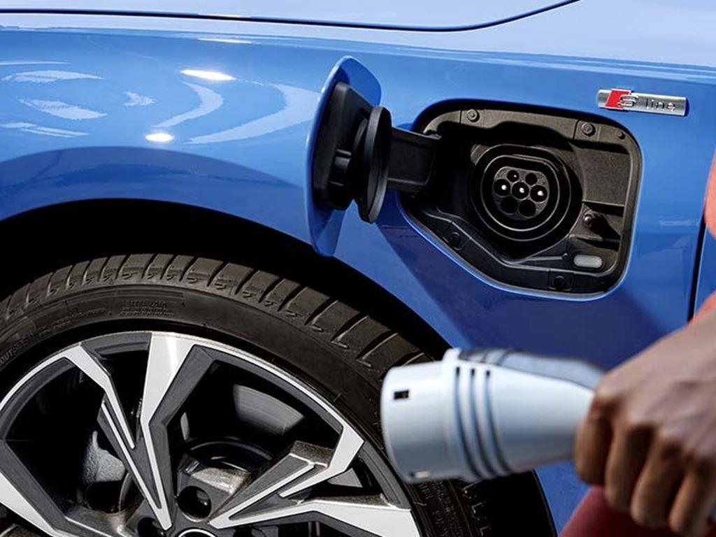 Audi A3 TFSI e Charging Plug
