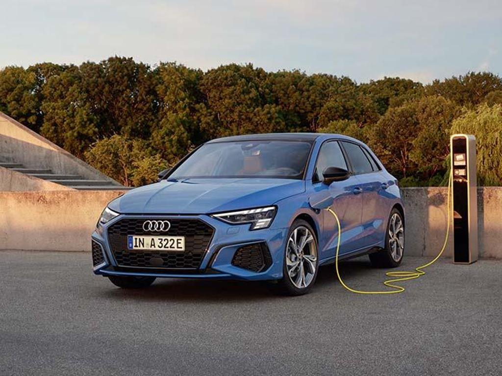 Audi A3 TSFI e on charge
