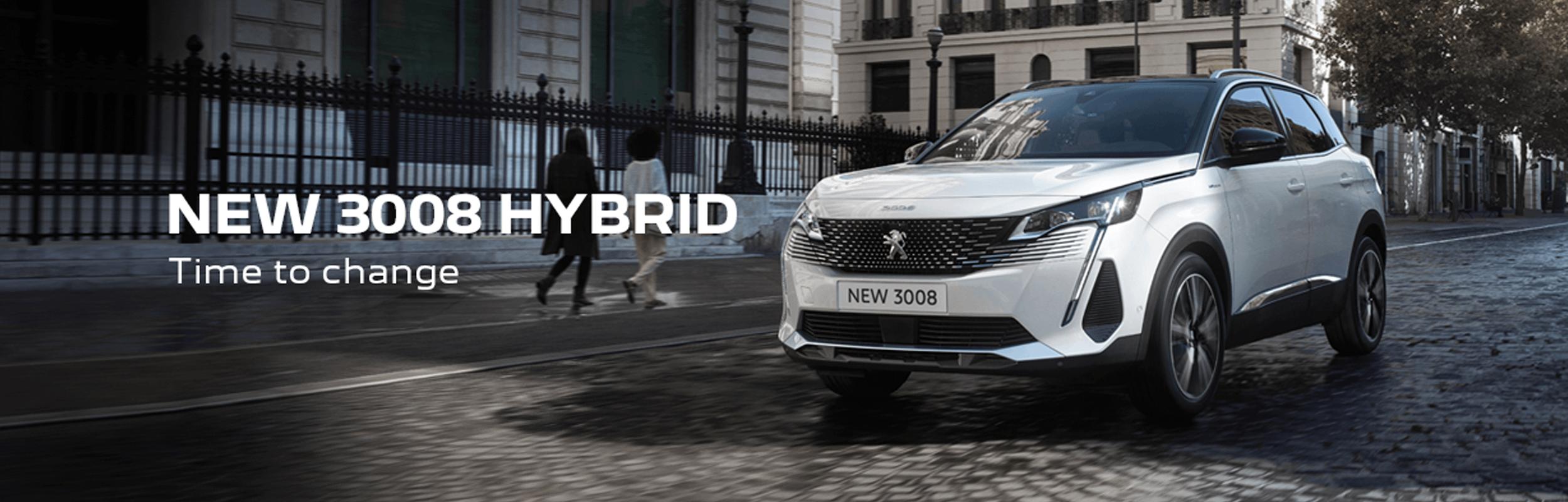 New Peugeot 3008 Hybrid