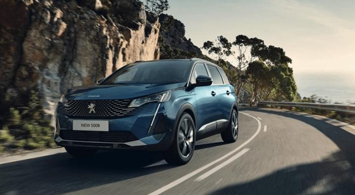 Peugeot 5008 SUV Motability Offer