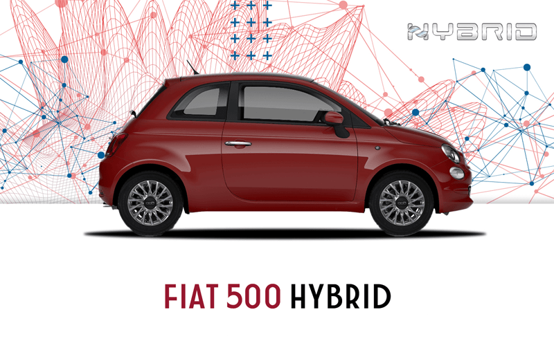 Fiat 500 Hybrid   from £199pm